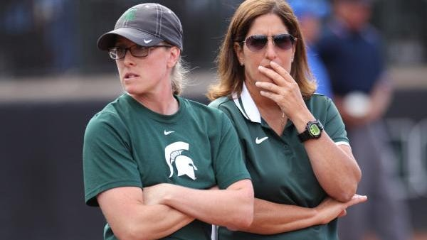 Michigan State assistant softball coaches Jessica Bograkos and head coach Jacquie Joseph are under fire from a former player who alleges they conspired to intentionally hit her during batting practice.