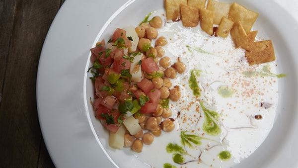 Papadi chaat is a dish offered at the new Masala Kitchen which opened earlier this month in downtown Wilmington. It's flagship location opened in 2013 in the New Castle Farmers Market.