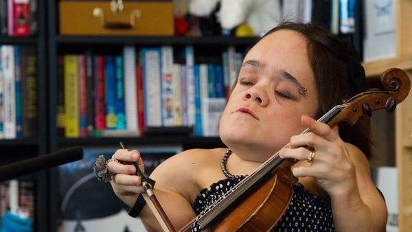 Singer-violinist Gaelynn Lea performs Thursday at the Dock.