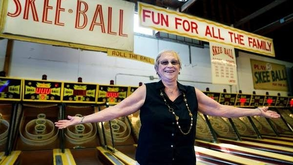 Anne DiSarcina found a special way to cash in her late husband's skee ball tickets.