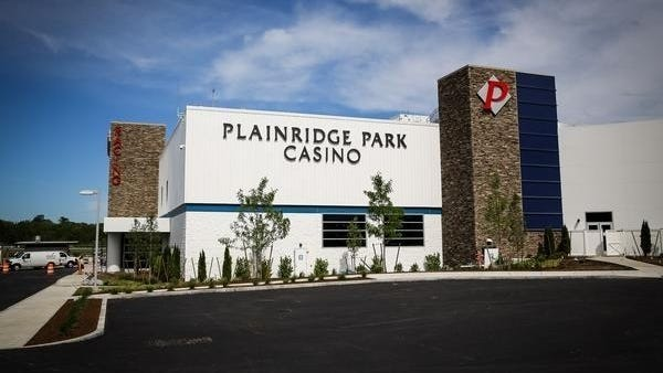 Plainridge Park Casino was the first facility to open under Massachusetts's 2011 expanded gaming law.