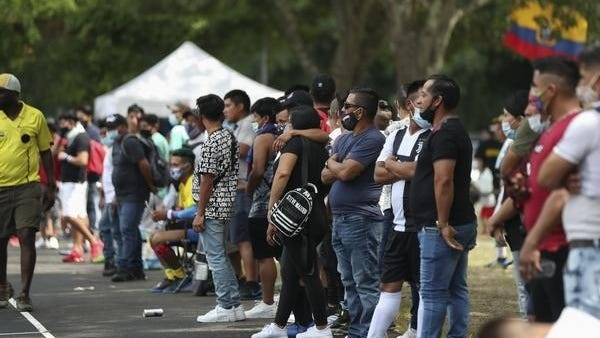 """A city-permitted event turned into a """"keg party"""" and cookout with more than 350 people, many of them drinking beer and violating social distancing guidelines amid the coronavirus pandemic, according to the mayor of Brockton."""