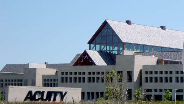 Acuity building and sign
