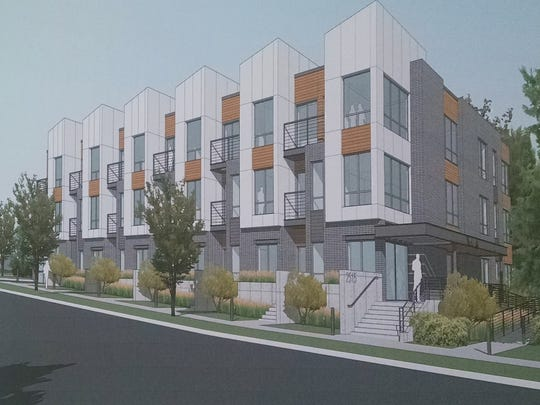 Developer and current property owner Chris Houden turned in an updated proposal for a planned unit development to the City of Wauwatosa.   The apartment building would be built on a lot now occupied by a log cabin that used to belong to former Erie Railroad president Frederick D. Underwood.
