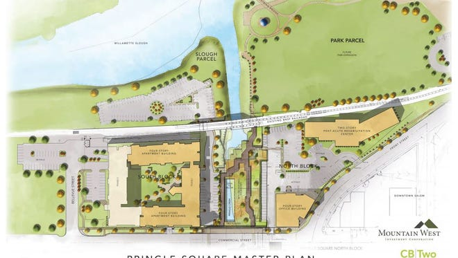 Plans outline the future of the former Boise Cascades site.