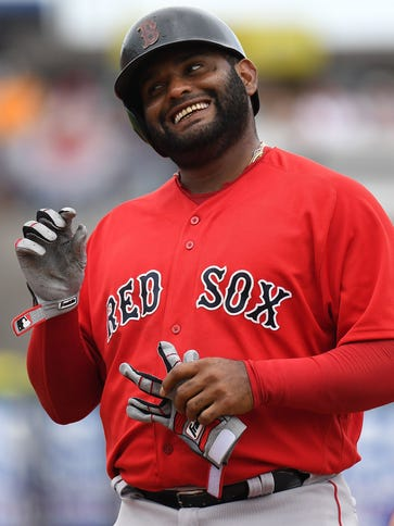 """""""I think he's going to be great,"""" teammate Jackie Bradley"""