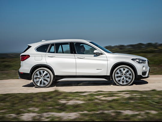 BMW says the new X1 SUV will have more passenger and cargo space than the outgoing model