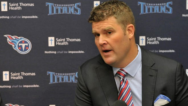 New Titans GM Jon Robinson is preparing for his draft with Tennessee.