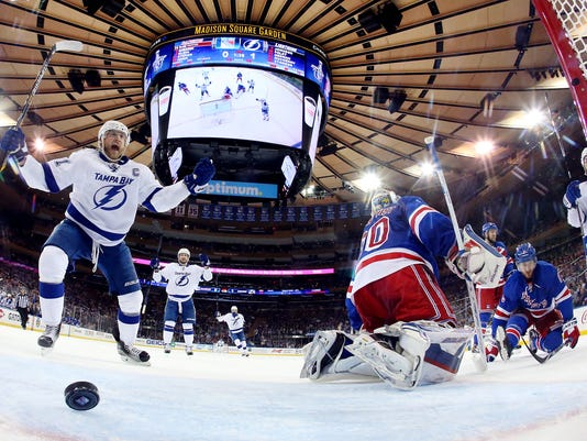BESTPIX - Tampa Bay Lightning v New York Rangers - Game Five