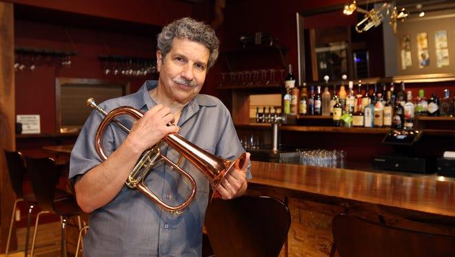 Mark Morganelli, executive director of Jazz Forum Arts, is pictured in his new jazz venue, Jazz Forum, in Tarrytown, June 1, 2107.
