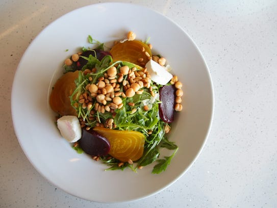 The beet salad at Acque California Bistro in Rancho Mirage, one of the restaurants participating in Greater Palm Springs Restaurant Week.