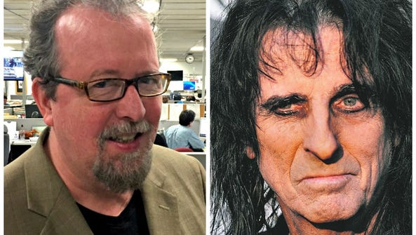 Mark Hinson interviews Alice Cooper.