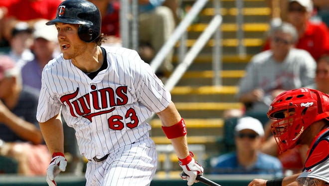Outfielder Joe Benson, who appeared in 21 games with Minnesota in 2011 and 70 with the Red Wings from 2012-13, was one of three players signed to a minor league contract by the Minnesota Twins on Monday.