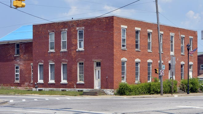 The former Girard Hotel is shown on Friday in Girard.