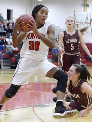Penfield's Makaila Wilson was named 2017 Monroe County Div. I Player of the Year.