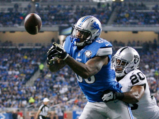 NFL: Oakland Raiders at Detroit Lions