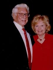 Carl and Edyth Lindner in 2007.