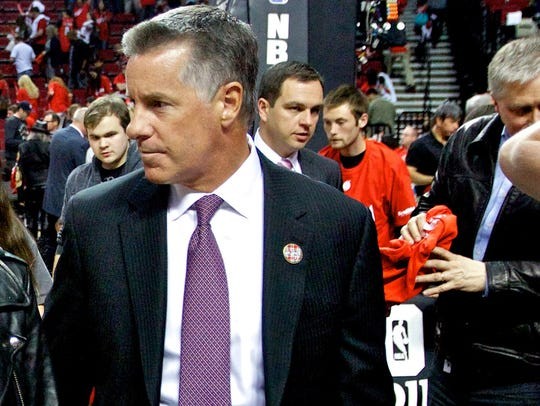 Portland Trail Blazers general manager Neil Olshey