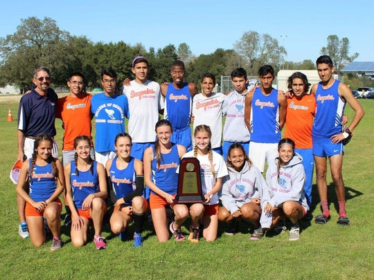 The COS men's and women's cross country teams will