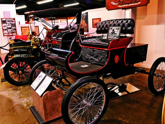The REO Olds Transportation Museum in Lansing is one of those supported through the MotorCities National Heritage Area.