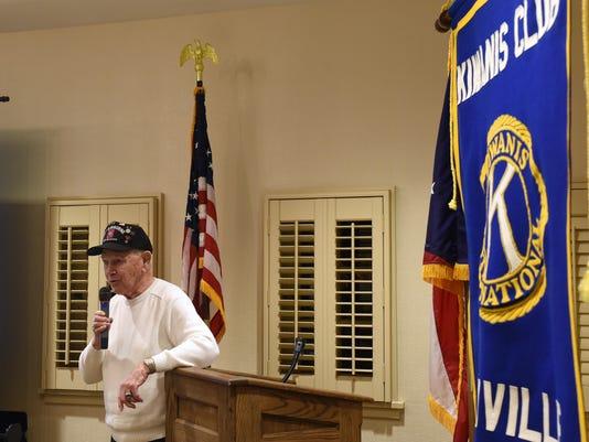 Kiwanis WWII veterans gathering