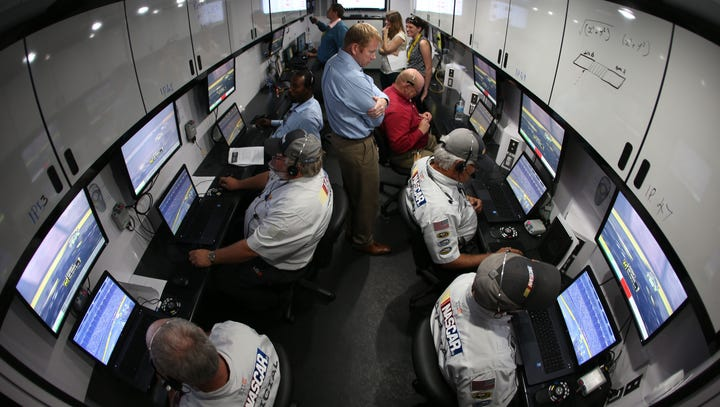 NASCAR pit road officiating system goes high tech