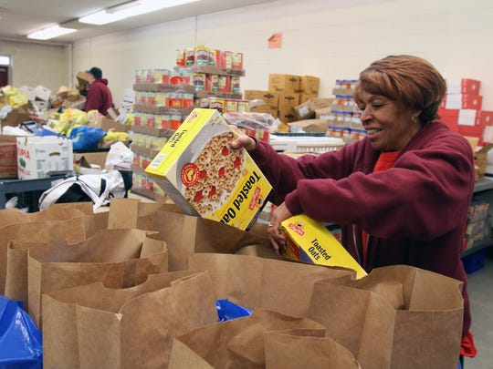 The Franklin Food Bank, where volunteers help provide food to those in need, is just one of the organizations supported by the Needy Cases Fund.