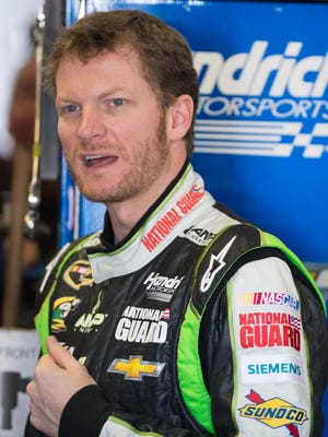 Dale Earnhardt Jr. finished second behind teammate Jimmie Johnson Sunday at Texas Motor Speedway.