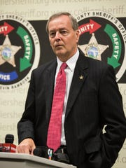 Collier County Sheriff Kevin Rambosk, shown here in June, says a case like that of Ana Mentado Contador, though relatively minor, still warrants enforcement.