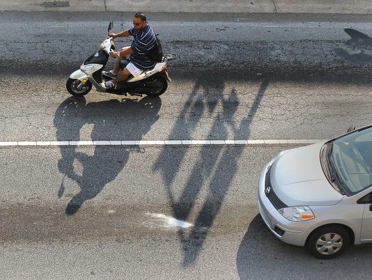 A Team moped