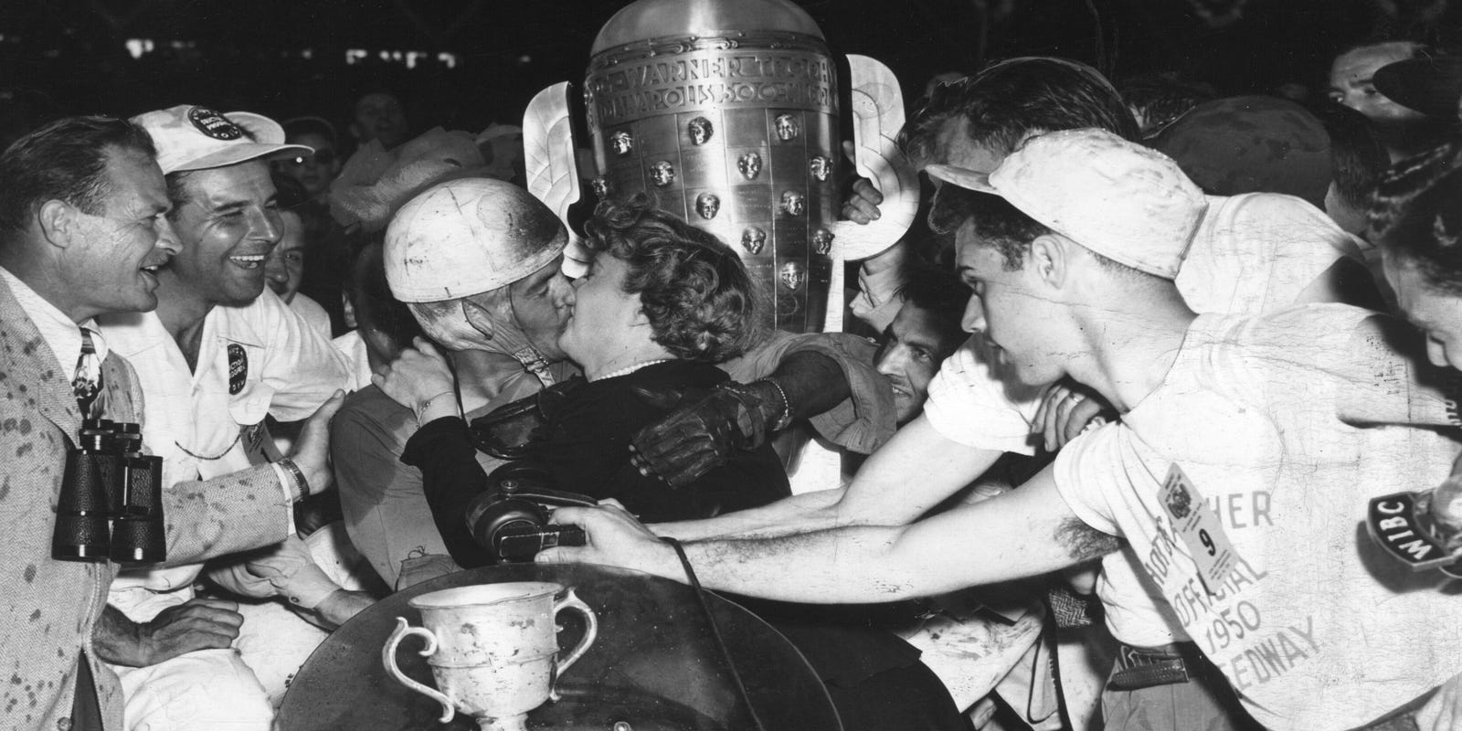 Parsons Claims Win In Rain Shortened 1950 Indy 500 Inside Wedges Johanna Black
