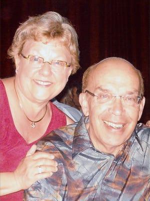 Oshkosh businessman Dennis Schwab with his wife Gail Schwab. Dennis Schwab passed away June 20, 2016.