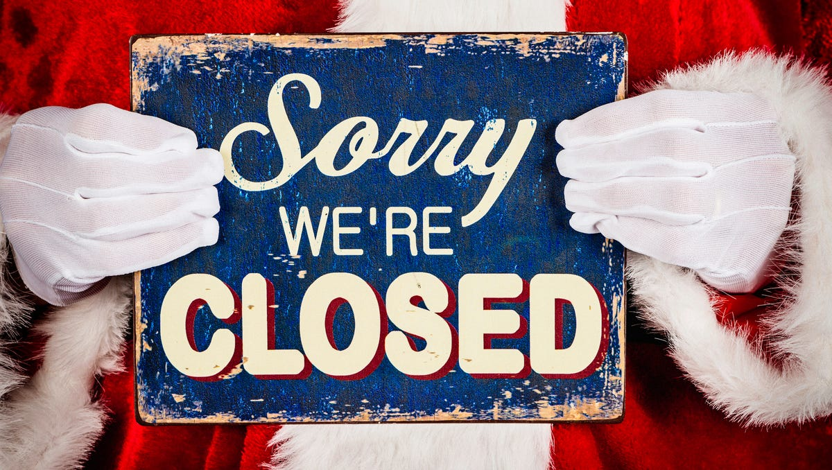 Government State Store Closings For The Holidays