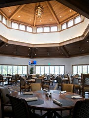 The Griffin Grille added seating to the clubhouse at