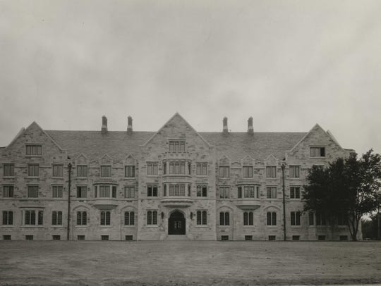 Elliott Hall is pictured circa 1938.
