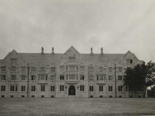 Elliott Hall is pictured circa 1938.