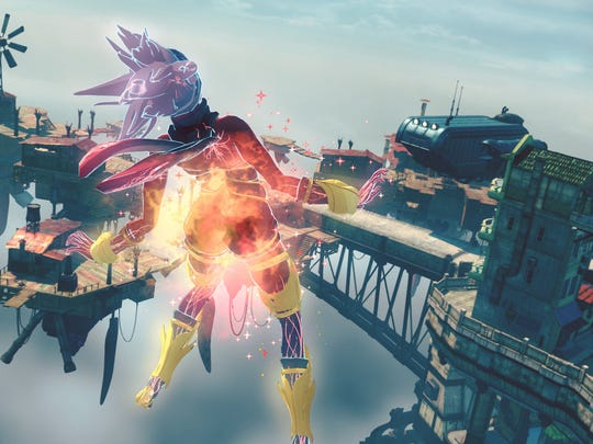 Feel the rush in Gravity Rush 2 for the PS4.