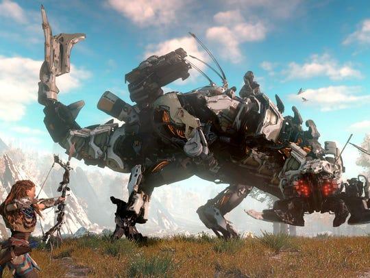 Debuting earlier in 2017, Sony's Horizon: Zero Dawn