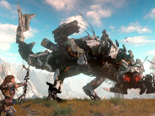 Debuting earlier in 2017, Sony's Horizon: Zero Dawn