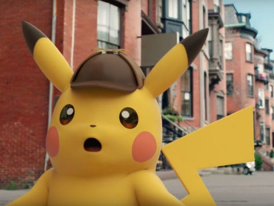 Detective Pikachu for Nintendo 3DS.