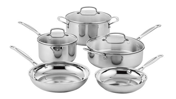 Your basic cookware in one place.
