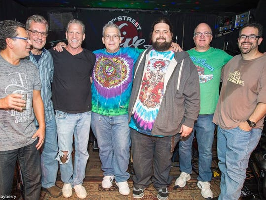 Weather permitting, the local Grateful Dead tribute act Dead Space is one of bands that will perform on a benefit concert for the Caring Contact crisis hotline on Jan. 23 at Crossroads, Garwood.
