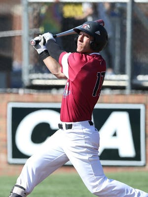 Joe Simone batted .331 for Rider with 19 multi-hit games and 34 runs.