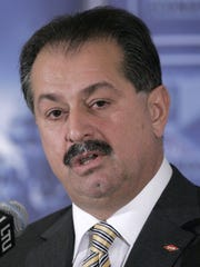Dow Chemical Company chairman and chief executive officer Andrew Liveris