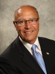 Monroe Township Council President Gerald Tamburro is running against Charles Dipierro in the primary on Tuesday.