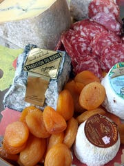 Cheese, fruit and charcuterie from Auray Gourmet in