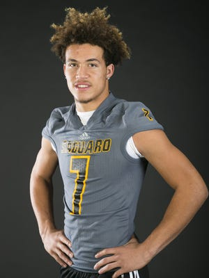 Saguaro's Byron Murphy is azcentral sports' Division II Player of the Year for 2015.
