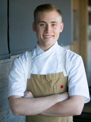Executive Chef Nick Rusticus at Second Story Liquor Bar in Scottsdale.