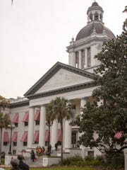 Exhibits are on display at the Historic Capitol Building.