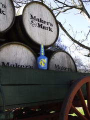 The Maker's Mark American Pharoah limited-edition bottle.